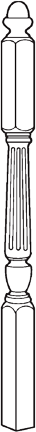 T-1687F Fluted